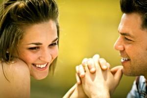 Romantic male body language