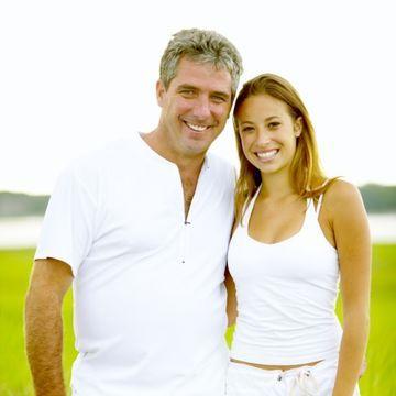 Women attracted to older men